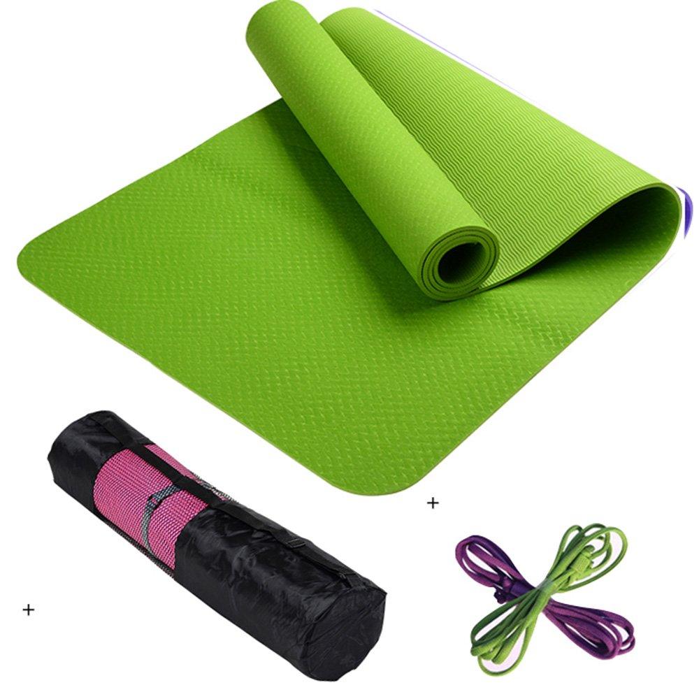 A Caoyu Sports et Fitness Tapis de Yoga Professionnel Anti-dérapant Tapis de Yoga allongé Tapis de Fitness Sportif Tapis couché 6mm