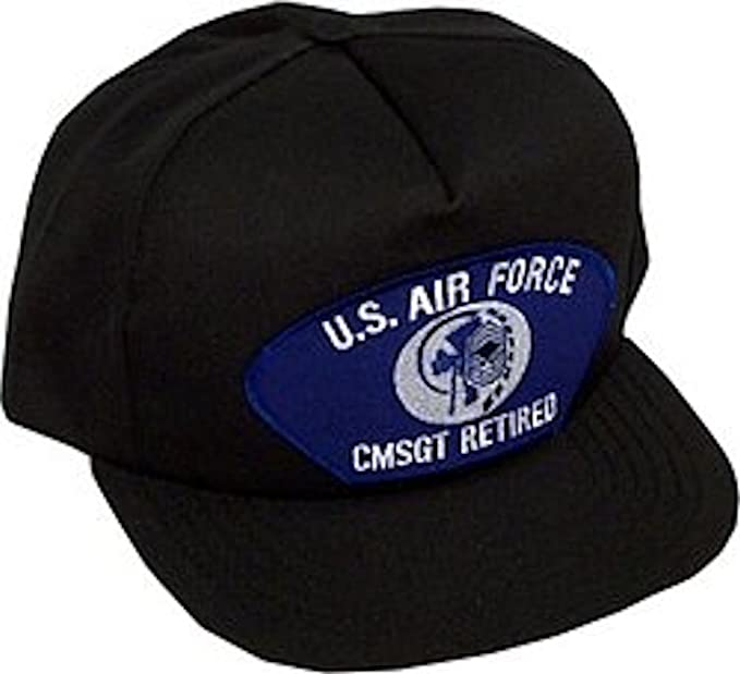 Amazon.com  U.S. Air Force CMSGT Retired Ballcap  Baseball Caps ... 96babc876881
