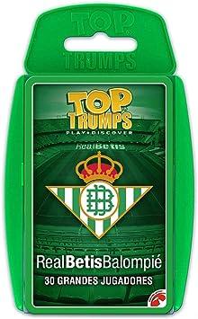 Eleven Force Top Trumps Real Betis Balompié (Español): Amazon.es: Juguetes y juegos