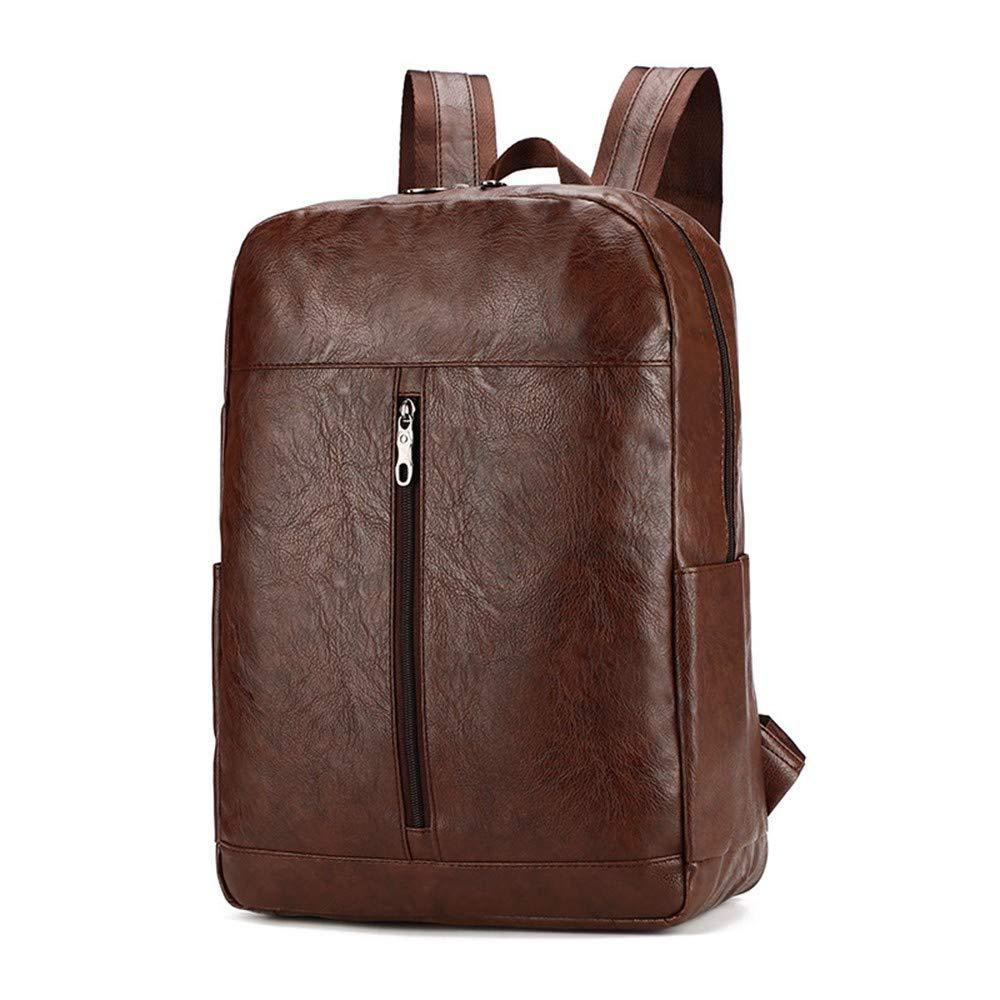 Brown DYR Computer Bag Casual Backpack Men and Women Outdoor Travel Bag Student Bag Shoulder Bag Chest Bag Handbag 24 Inch