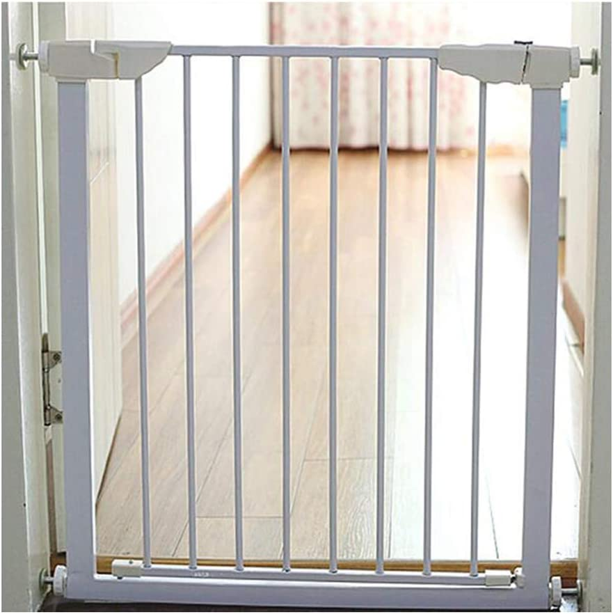 WHAIYAO Bebé Puerta De La Escalera Barrera Mascota Puerta Infantil Puerta De Aislamiento Cercar Aplicaciones De Escalera Barandilla De Balcón, Montado A Presión: Amazon.es: Hogar