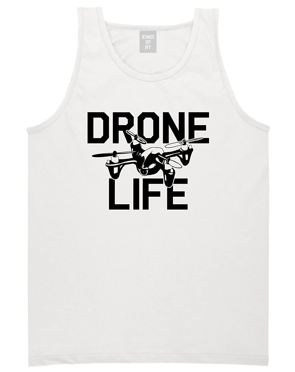 Drone Life Quadcopter Pilot Flying Geek Tee Funny Tank Top