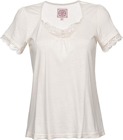 Vive Maria Basic Lace Shirt T-Shirt creme