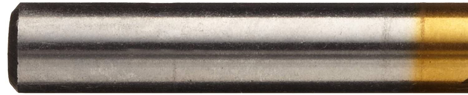 Pack of 1 Cleveland 2175T Cobalt Steel Jobbers Length Drill Bit 17//32 Pack of 1 Round Shank Greenfield Industries 135 Degree Notch Point TiN Coated 17//32