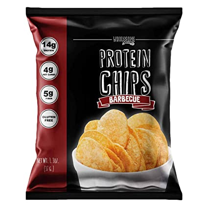 Patatas fritas de proteínas, 0.49 oz de proteína, 0.11 oz ...