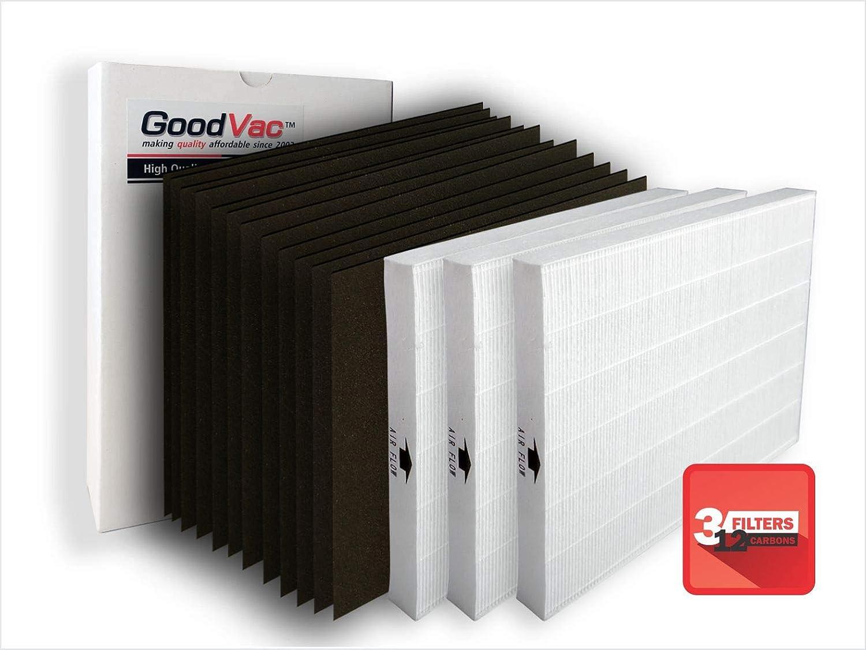 1 H13 Hepa filtro y 4 filtros de carbono para aspiradora Electrolux EL490 y el491 purificadores de aire, sustituye a OEM kit de filtros EL017. Calidad de repuesto filtros por goodvac: Amazon.es: