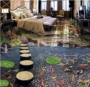 Yosot Benutzerdefinierte 3d Bodenbelag Wasserdichte Tapete Fur