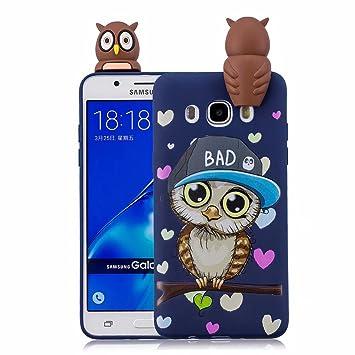 MISSDU Funda para Samsung Galaxy J7(2016) SM-J710F Carcasa ...