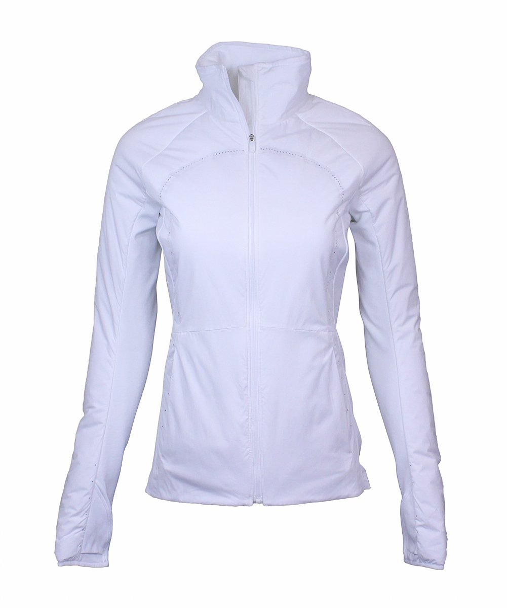 Lululemon White Run For Cold Jacket