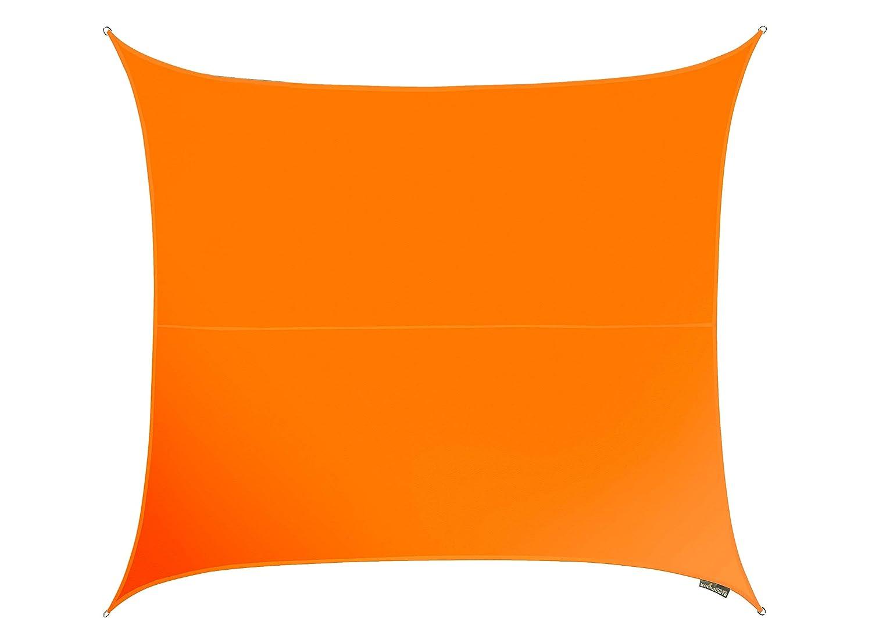 Kookaburra Wasserfest Sonnensegel 3,6m Quadrat Orange