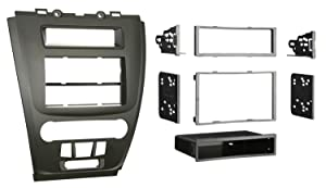 Metra 99-5821BSingle or Double DIN Installation Dash Kit for 2010 Ford Fusion and Mercury Milan (Matte Black)