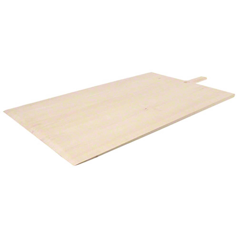 American Metalcraft 2242 22 x 36 Long Blade Wood Pizza Peel with 6 1//2 Handle