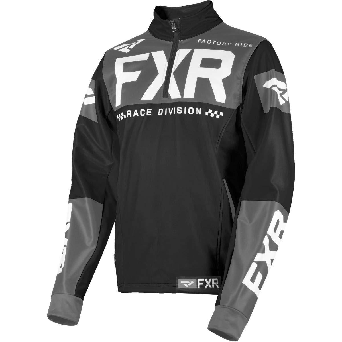 Medium FXR 2019 Cold Cross RR Pullover Orange//Black//White