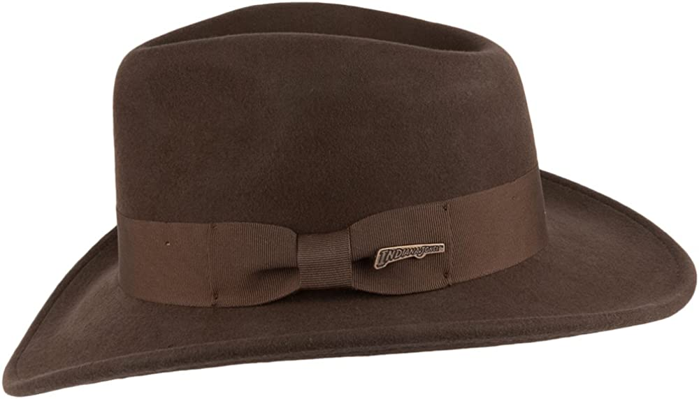 Indiana Jones Hats Promotional Fedora Brown