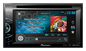 Pioneer AVH-X1600DVD best double din head unit