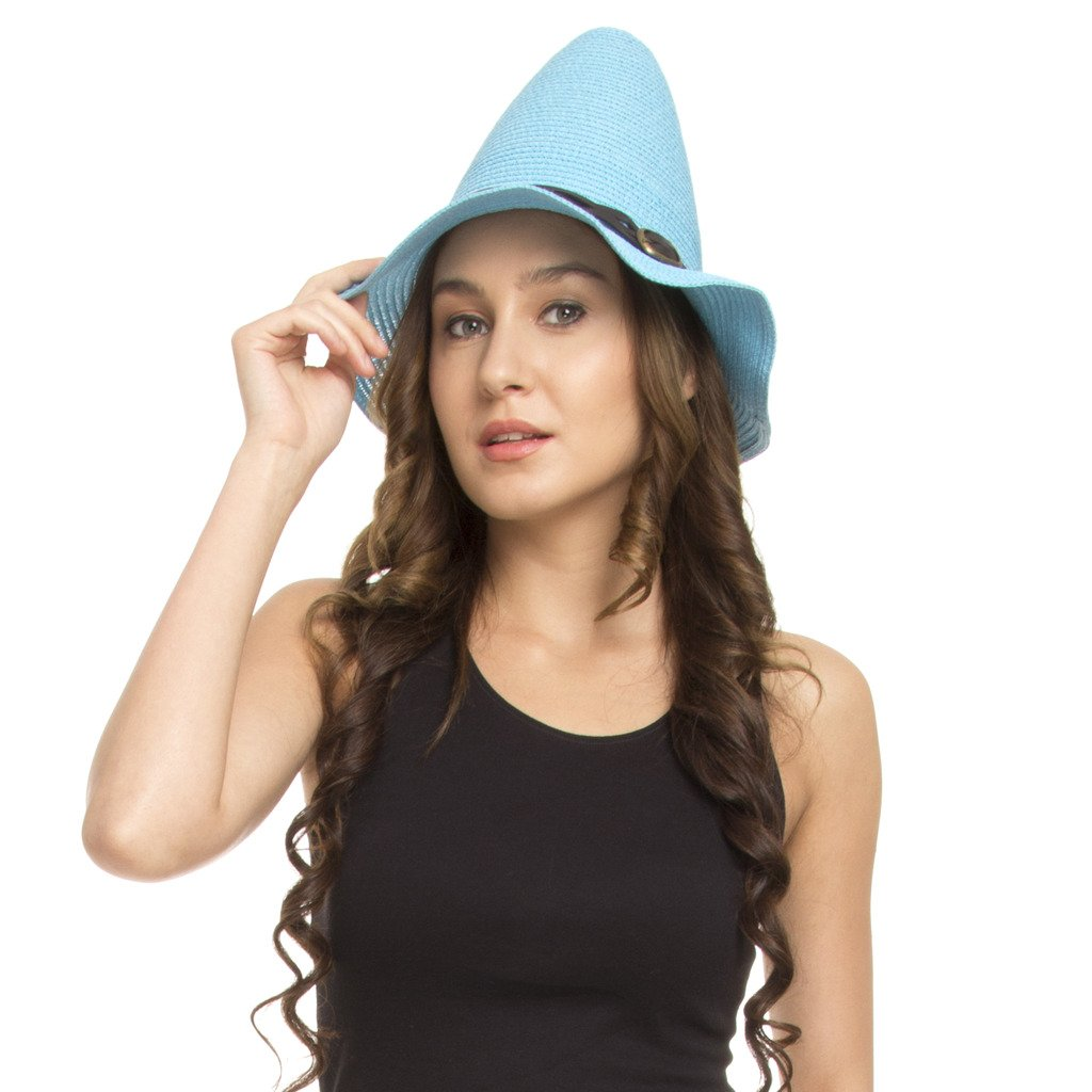 5ca44fc9d37 Buy FabSeasons Blue Fancy Hat for Women Online at Low Prices in India -  Amazon.in
