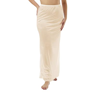 Underworks Nylon Maxi Length Half Slips with Snip a Length 8482 at Women's Clothing store