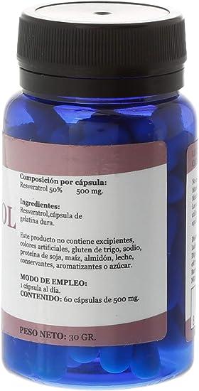 Alfa Herbal Resveratrol Herbal 60Cap. 200 g 1 Unidad: Amazon ...