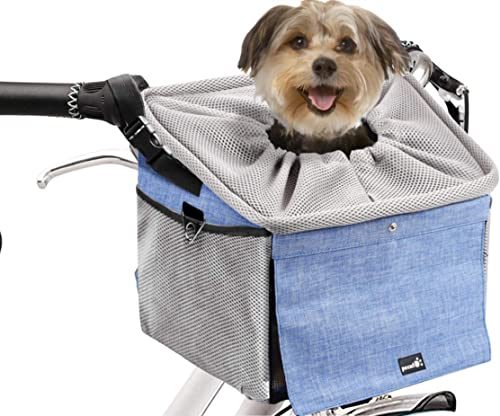 Pecute Haustier Fahrradtasche für für Hunde