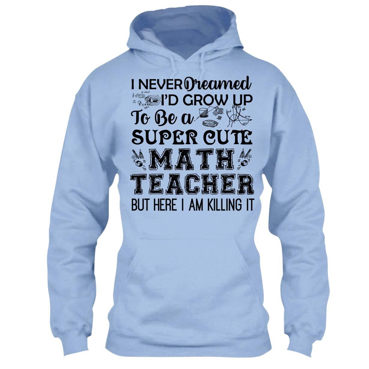 Amazon.com: Arered Math Teacher Cool Tshirt - Super Cute Math ...