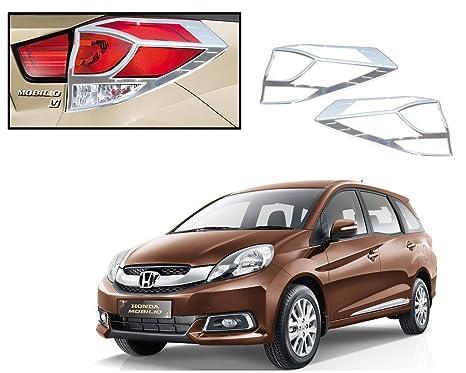 Hi Art Chrome Plated Tail Light Covers For Honda Mobilio Set Of 2