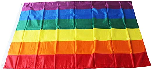 LGBT Banners Large Pride Flags Colorful Stripped Flag Home Decor 90*150cm NEW