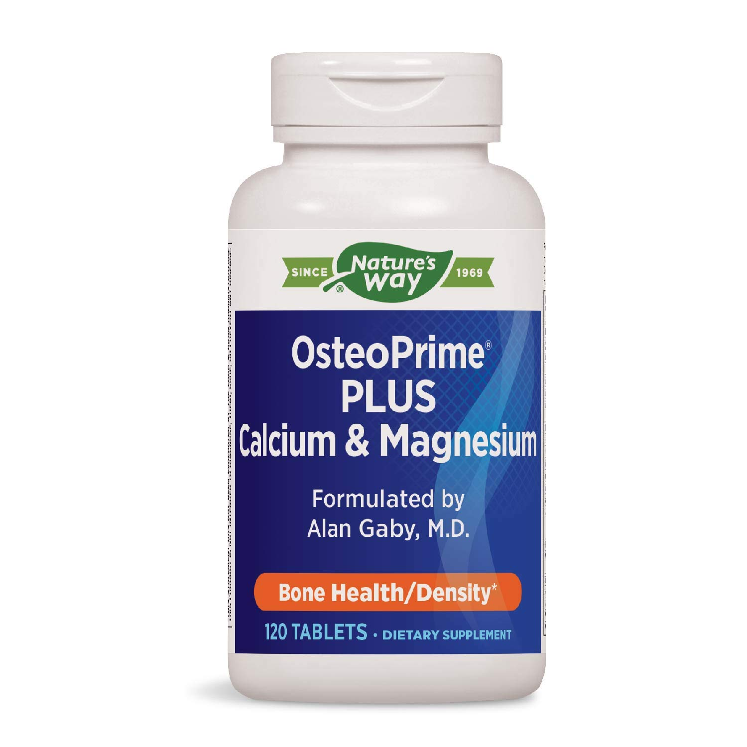 Enzymatic Therapy - Osteoprime Plus, 120 Tablets: Amazon.es: Salud y cuidado personal