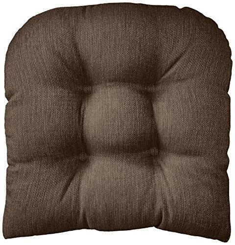 Klear Vu Gripper Non-Slip Omega Tufted Universal Chair Pad Cushion, 17