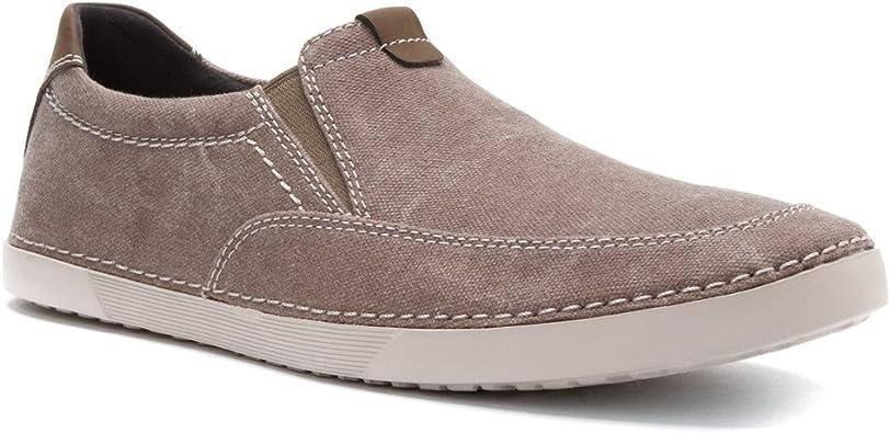 Clarks Neelix Fly pour Homme Chaussures, Gris (Gris), 46 EU