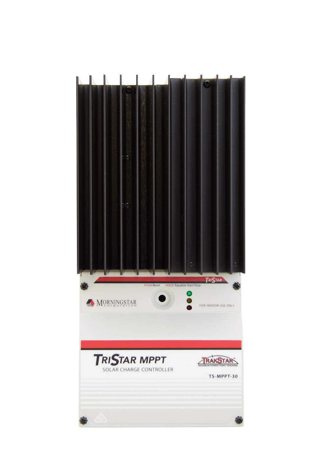 Morningstar TS-MPPT-30 TriStar 30 Amp MPPT Solar Controller with Maximum Power Point Tracking, Better Peak Power Point Tracking than Other MPPT Controllers, Very Fast Sweeping of the Entire I-V Curve