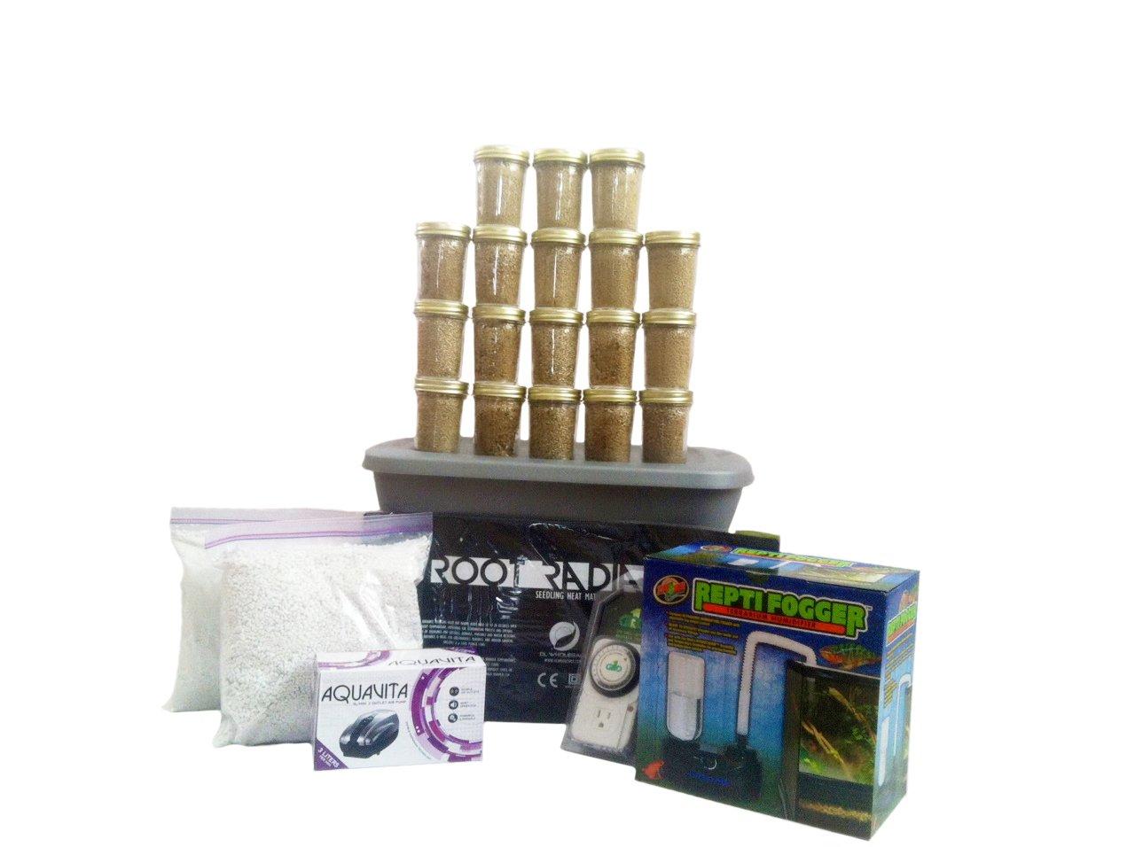 Mega Mushroom Growing and Incubating Kit with Humidifier