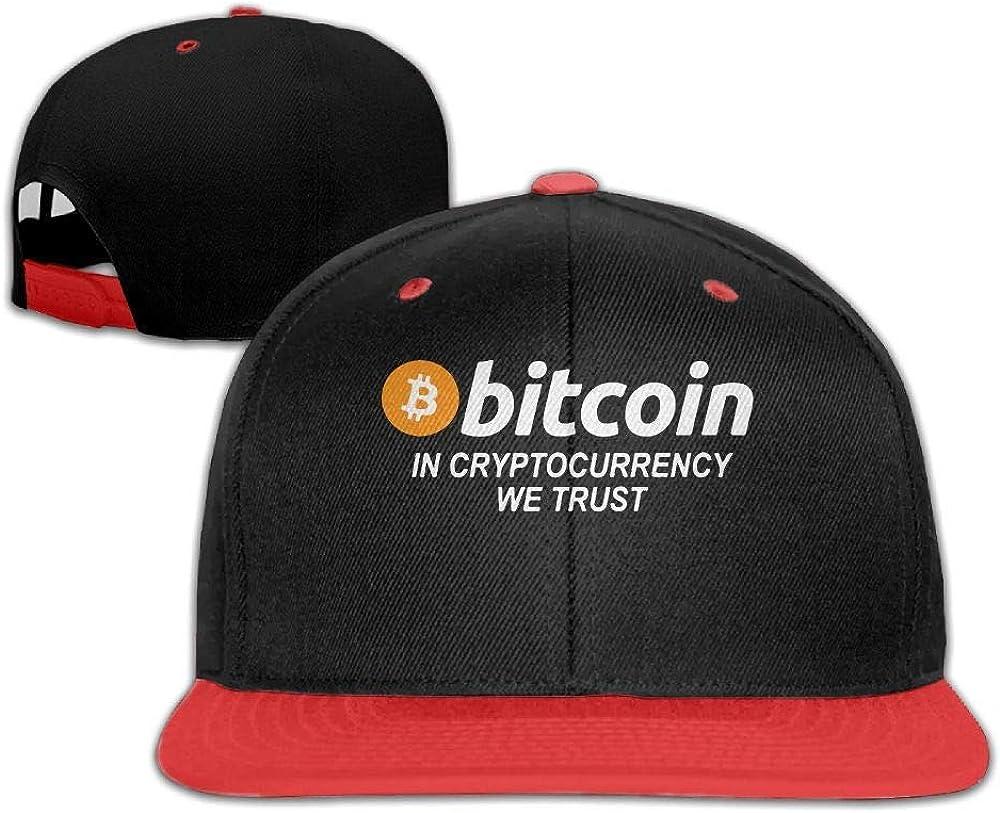 in Cryptocurrency We Trust Baseball Caps Snapback Hip-Hop Cap Hats Kids Girls Bitcoin