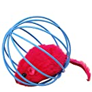 Transer® Toys for Pet Cat- Funny Rat in A Cage- Kitten Favorite Teaser Interactive Toy