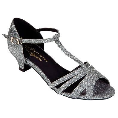 Tappers & Pointers - Zapatillas de danza para niña Plateado plata bhuHX431