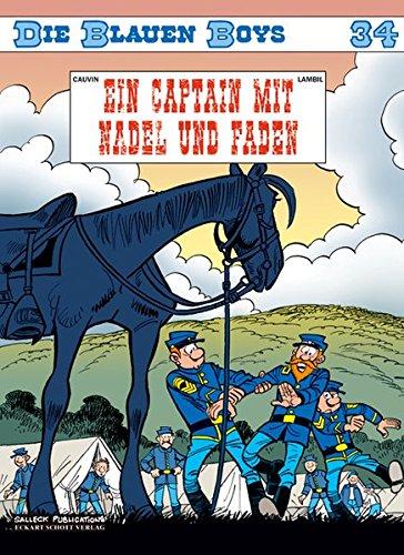 Die blauen Boys: Band 34: Ein Capitain mit Nadel und Faden