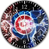 Cubs Frameless Borderless Wall Clock W340 Nice For Gift or Room Wall Decor