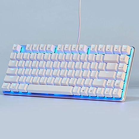 WUXXXDisposición mecánica alemana con teclado retroiluminado ...