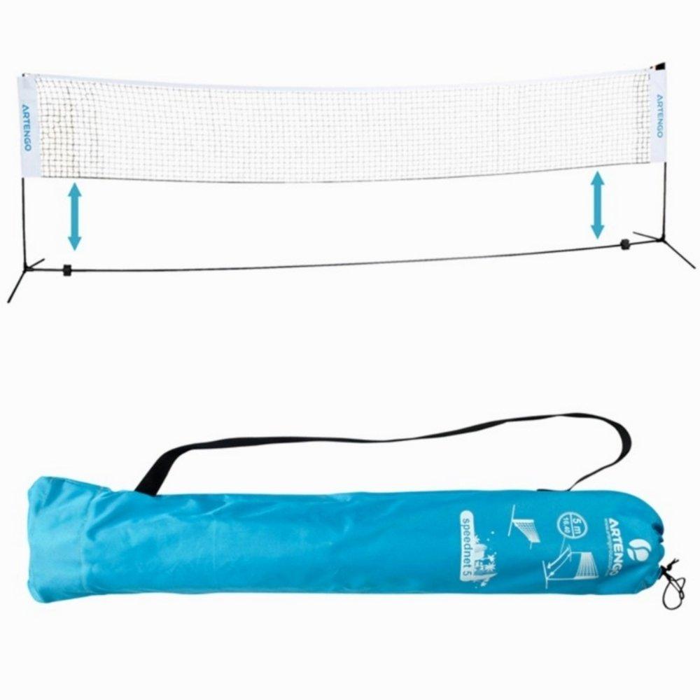 Artengo Speednet 500 - 5 Metres Badminton Net Decathlon Speednet-500