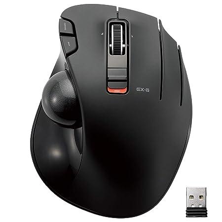 ELECOM Wireless track ball mouse 6 button Tilt function Black M XT3DRBK Keyboard   Mouse Sets