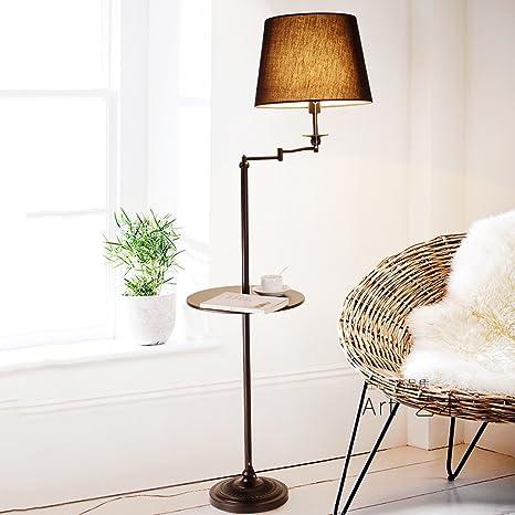 Lámpara de pie Americano Lámpara de salón Lámpara de Mesa de ...