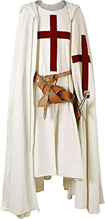 Medieval-LARP-Cosplay-SCA-Battle Ready 100/% Thick Cotton KNIGHTS COLOURS//SURCOAT
