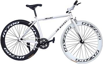 Fixie Helliot Fixie Brooklyn H30 Bicicleta Urbana, Hombre, Blanco ...