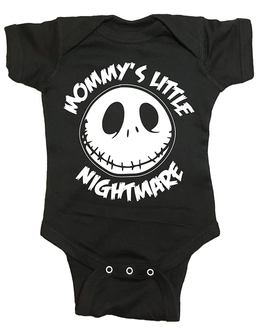 Brain Juice S Mommys Little Nightmare The Nightmare Before Christmas Baby One Piece Shirts