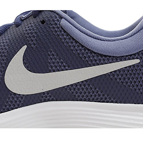 Nike Kvindernes Revolution 4 Løbesko Blå Ren Platin Lilla ieqnFeG