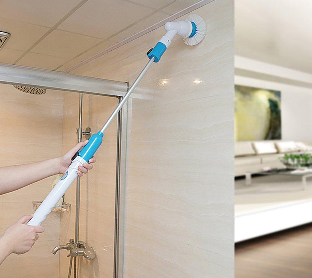 kikigoal cepillo de limpieza multifuncional eléctrico Tocadiscos ...