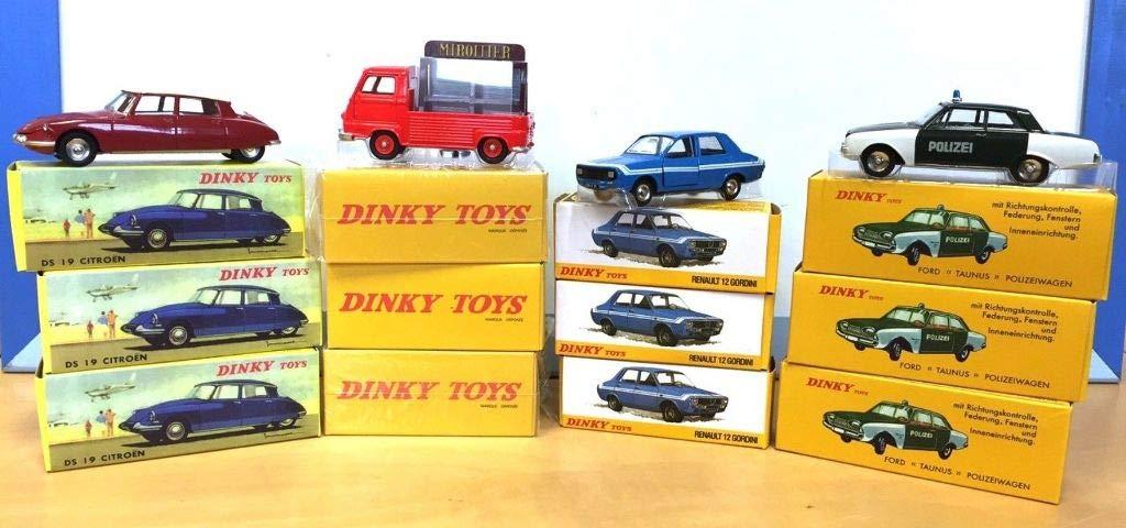de moda Atlas Lot of 12 Dinky Toys Citroen Renault Renault Renault Ford  salida