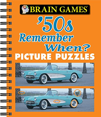 Brain Games - Picture Puzzles: '50s Remember When?