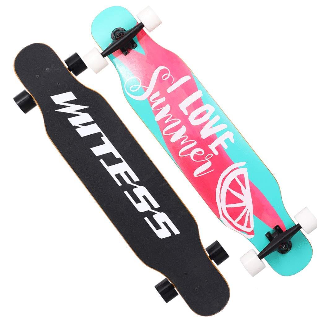 超安い品質 Weiyue B, スケートボード- (色 初心者スケートボードロングボード大人の男の子と女の子のブラシストリートダンスボードユース四輪スクーター (色 : B, サイズ サイズ さいず : 107x25x13cm) B07MCWQBLL 107x25x13cm|D D 107x25x13cm, 【全商品オープニング価格 特別価格】:d2a3e04b --- a0267596.xsph.ru