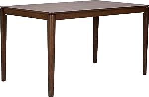 Liberty Furniture Industries Space Savers Rectangular Leg Table, W53 x D32 x H30, Medium Brown
