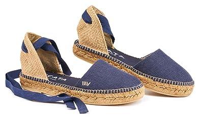 320814c2a Amazon.com | VISCATA Handmade in Spain Candell Linen Sandal, Soft ...